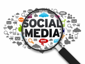 Show up on Social Media