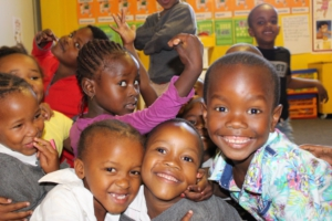 Learners at Ubunye Educare Center